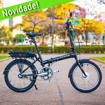 Bicicleta Elétrica Dobravel