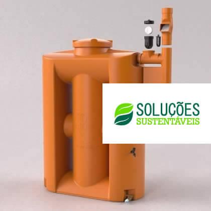 Cisterna Vertical Modular Tecnotri 600 Litros
