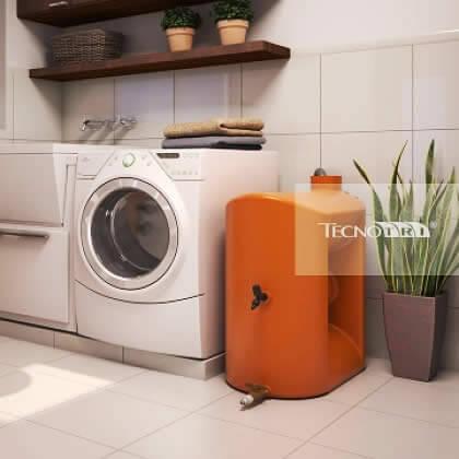 Kit de reuso de água para máquina de lavar roupa